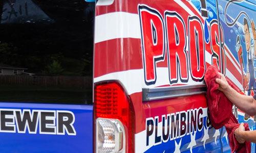 Pros Plumbing & Sewer Truck